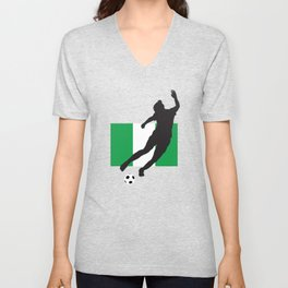 Nigeria - WWC Unisex V-Neck