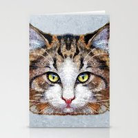 meow Stationery Cards featuring MEOW by Ancello