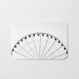 1/2 Ferris Wheel Bath Mat