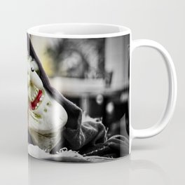 The Smile of the Terrifying Halloween Witch Coffee Mug