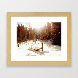 East Lake Creek, Edwards, CO Framed Art Print