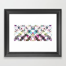 NOTAPOSTER-EH-WALLPAPER Framed Art Print