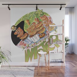 winter snack Wall Mural