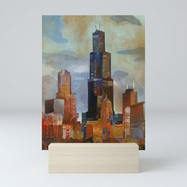 Sears Tower Mini Art Print