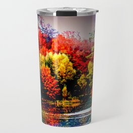 Abstract Perfection 42 Autumn Travel Mug