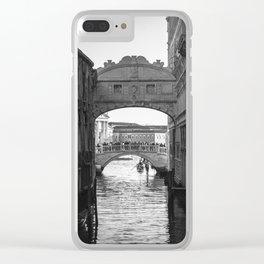 Bridge of Sighs - Venice Clear iPhone Case