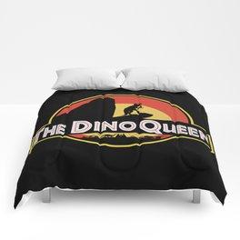 The Dino Queen Comforters