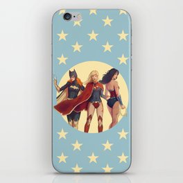 Girls of DC iPhone Skin