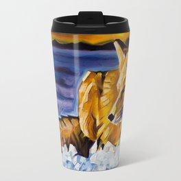 Twilight Fox Travel Mug