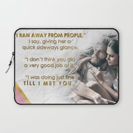 One Special Love Quote Laptop Sleeve