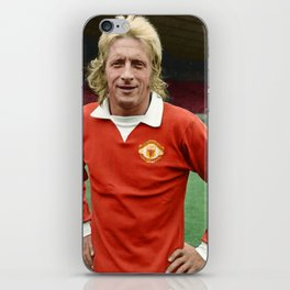 Denis Law in colour iPhone Skin
