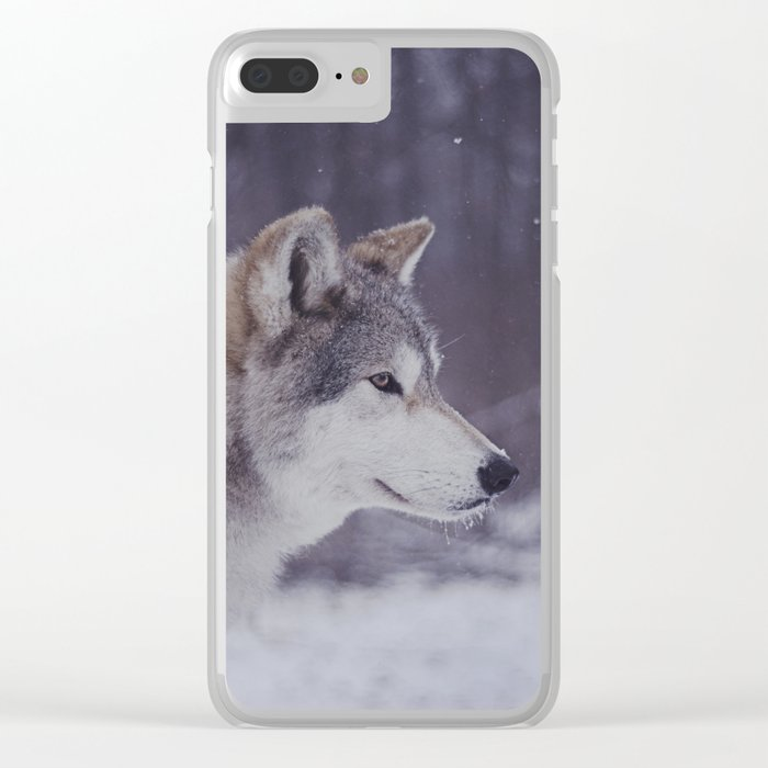 Cana Portrait Clear iPhone Case