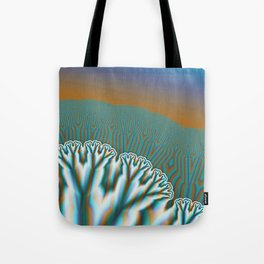 Fractal Forest Abstract Art Tote Bag