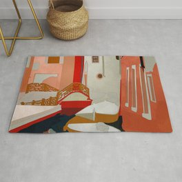 italy venice canale Rug