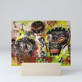 Kaos Heads Mini Art Print