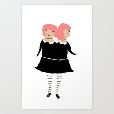 Evil Twin Art Print