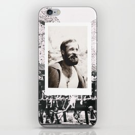 Hipsters from 1970. iPhone Skin