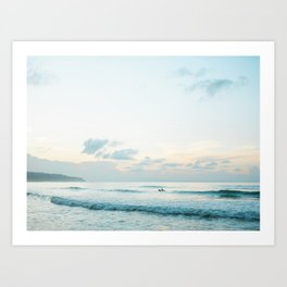 Once your board hits the ocean | Surf travel photography print | Central America Art Print