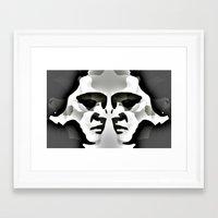 elvis Framed Art Prints featuring ELVIS ? by KrisLeov