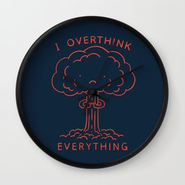 Overthink Wall Clock