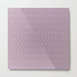 Mae Pattern IV Metal Print