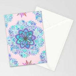 Heart Chakra Maldala Pattern Stationery Cards