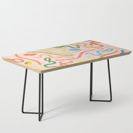 Snakes and Frogs Coffee Table
