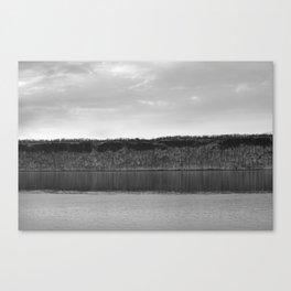 Along The Hudson Canvas Print