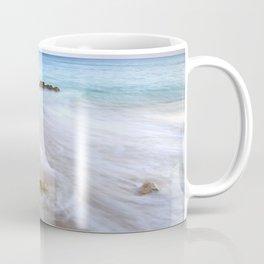 """Serenity beach"". Praia Do Porto Mos At Sunset. Algarve. Portugal Coffee Mug"