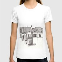 brussels T-shirts featuring Brussels by MadmFia
