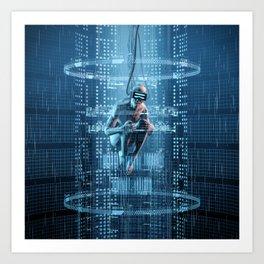 Virtual Dreams Reloaded Art Print