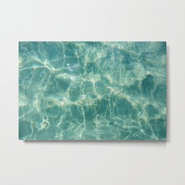 Turquoise dreams- ocean photography- summer vibes Metal Print