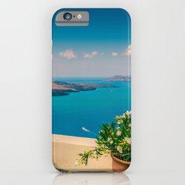 Santorini i iPhone Case