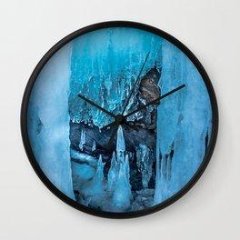 The Ice Palace Wall Clock