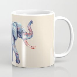 Lucky Elephant Painting Coffee Mug