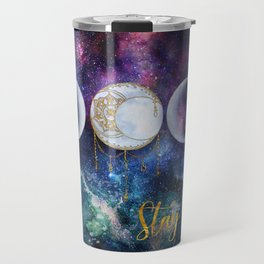 Celestial Ocean Moon Phases | Stay Wild Travel Mug