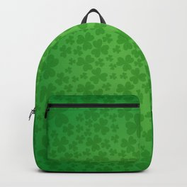 irish, ireland, shamrock, irish gifts women, luck of the irish, irish gift, three leaf clover Backpack