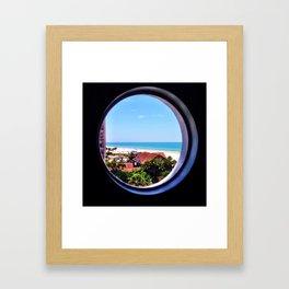 What do you sea? Framed Art Print