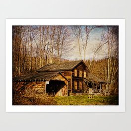 John Burroughs Woodchuck Lodge Art Print