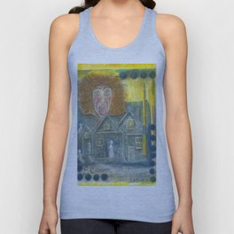 The Scream Unisex Tank Top