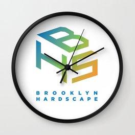 Brooklyn Hardscape Apparel Wall Clock