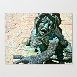 Crying Child Canvas Print