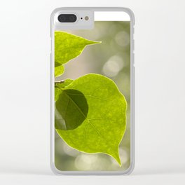 Βougainvillea II Clear iPhone Case