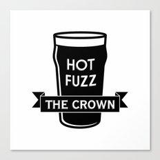 Hot Fuzz - The Crown Canvas Print