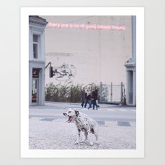 Good people Art Print