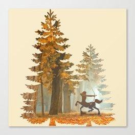 Mystic Hunt Canvas Print