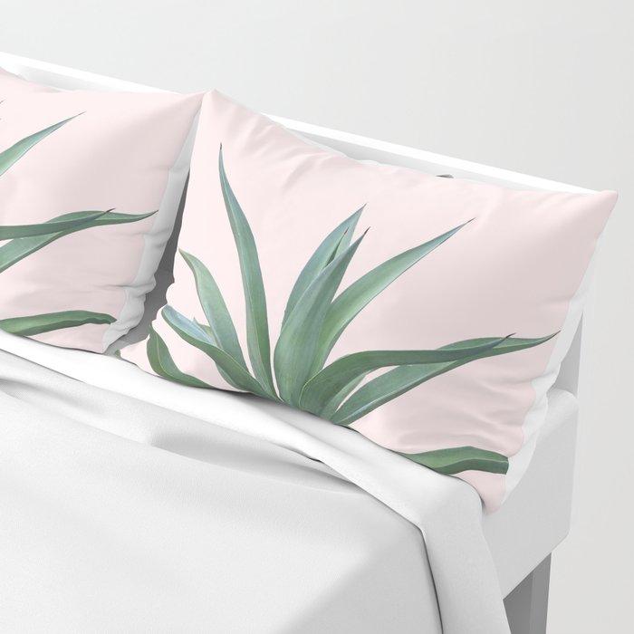 Cactus Photography Pink Pillow Sham