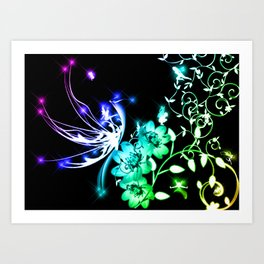 Fairy Land Art Print