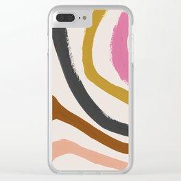 Zébra pop Clear iPhone Case