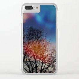 Tree Spirits Clear iPhone Case